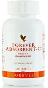 Forever Absorbent Vitamin C Flp 48 Kautabletten